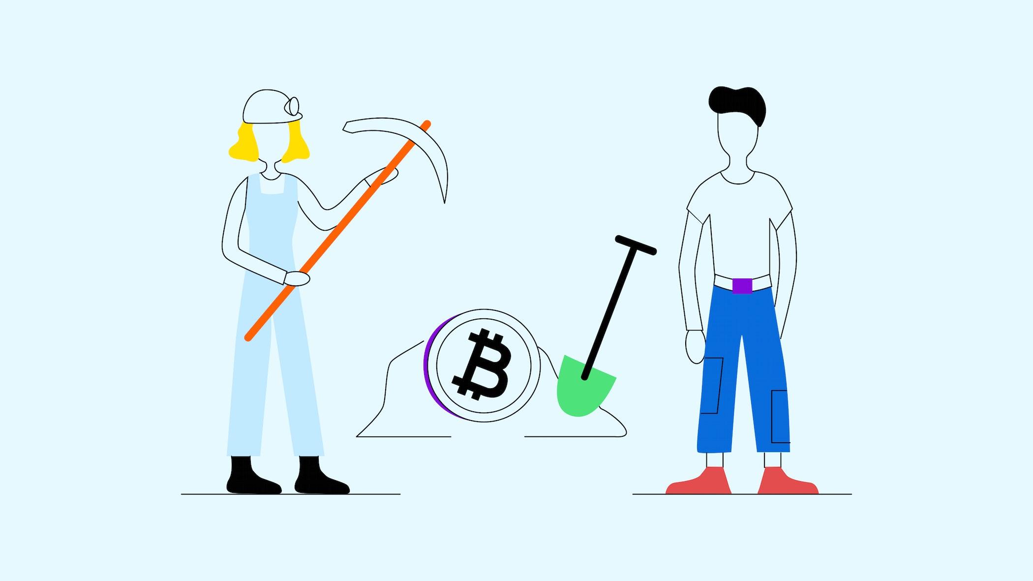 piscina bitcoin profitto